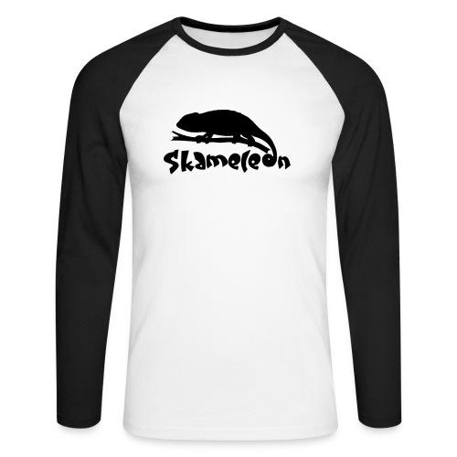 logoskameleon - Männer Baseballshirt langarm