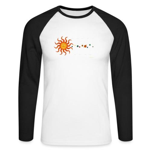 Solar System - Men's Long Sleeve Baseball T-Shirt