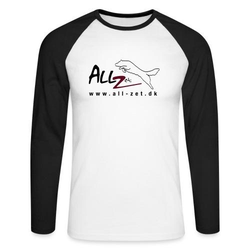 All Zet Logo - Langærmet herre-baseballshirt