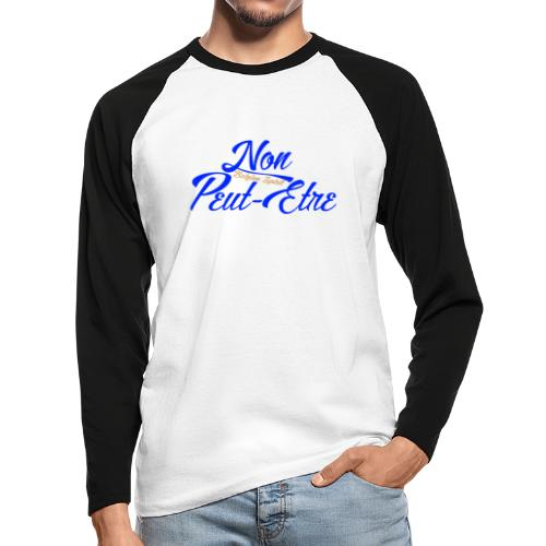 BELGIAN-NONPEUTETRE - T-shirt baseball manches longues Homme