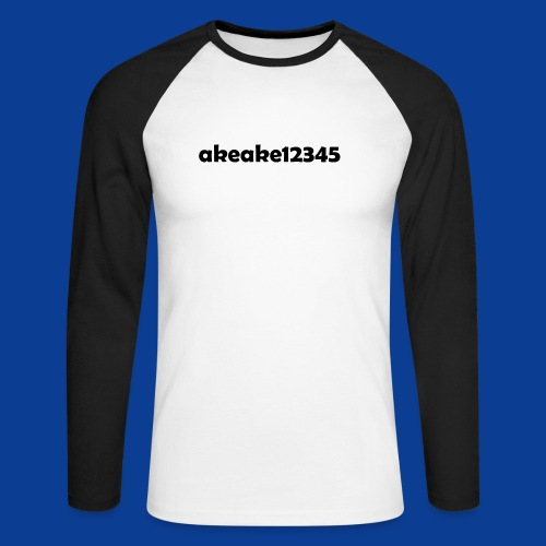 Shirts and stuff - Men's Long Sleeve Baseball T-Shirt