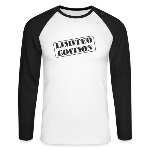 Limited Edition - Männer Baseballshirt langarm