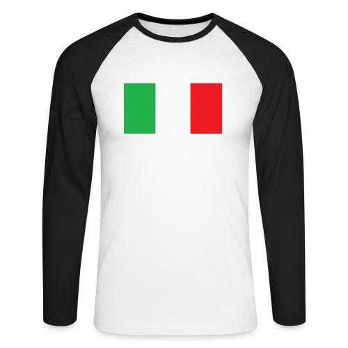 Italien Fußball - Männer Baseballshirt langarm