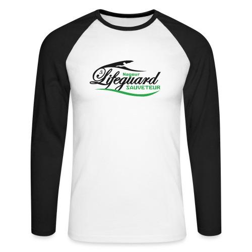 lifeguard NS - T-shirt baseball manches longues Homme