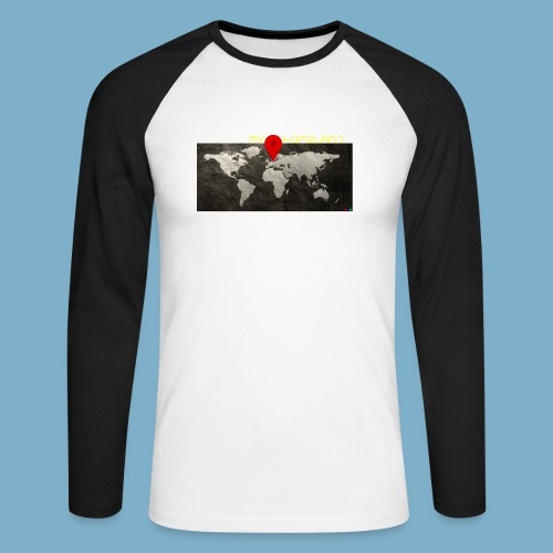 homeland my base - Männer Baseballshirt langarm
