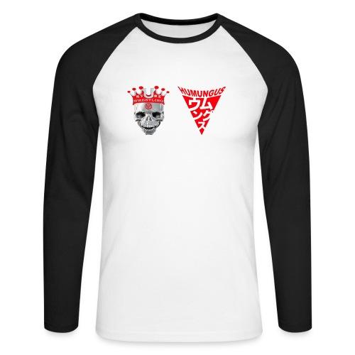 skull krone humungus3 png - Männer Baseballshirt langarm