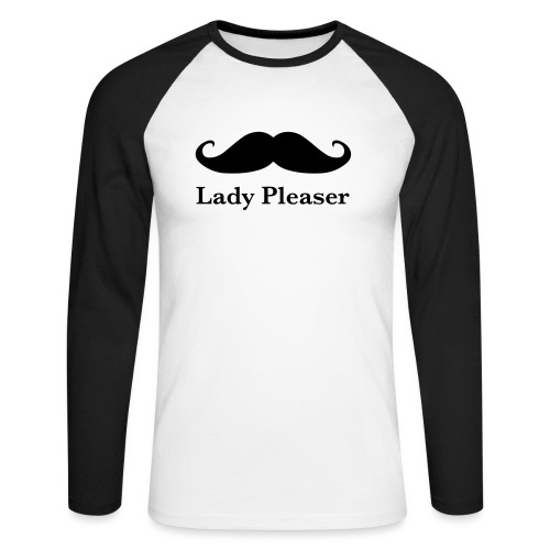 Lady Pleaser T-Shirt in Green - Men's Long Sleeve Baseball T-Shirt
