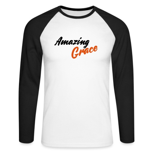amazing grace - T-shirt baseball manches longues Homme