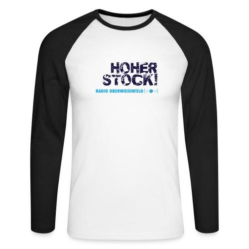 Unterbux Highsticking png - Männer Baseballshirt langarm