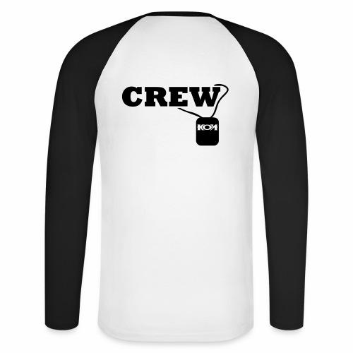 KON - Crew - Männer Baseballshirt langarm
