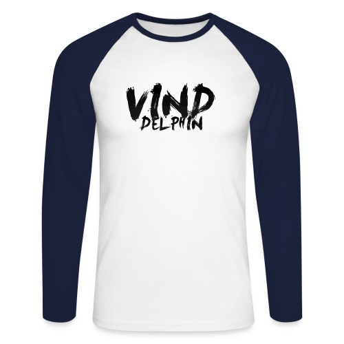 VindDelphin - Men's Long Sleeve Baseball T-Shirt