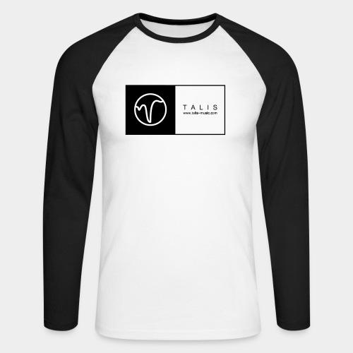 TALIS (2Quadrate) - Männer Baseballshirt langarm