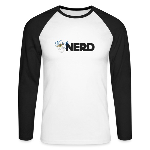 King-Nerd - Men's Long Sleeve Baseball T-Shirt