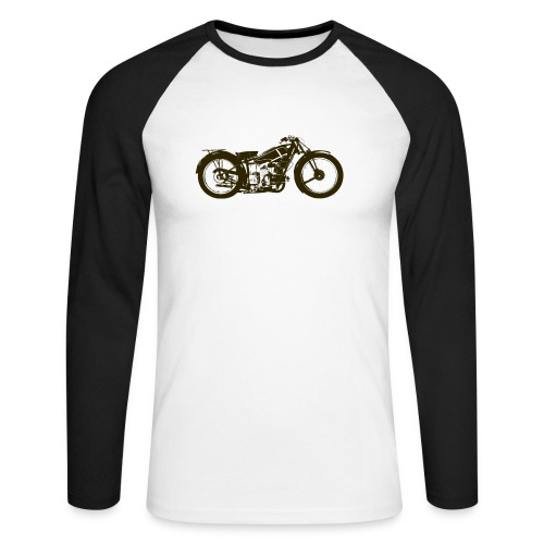 Classic Cafe Racer - Men's Long Sleeve Baseball T-Shirt