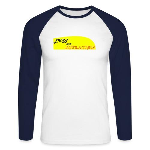 lust ans attraction - Men's Long Sleeve Baseball T-Shirt