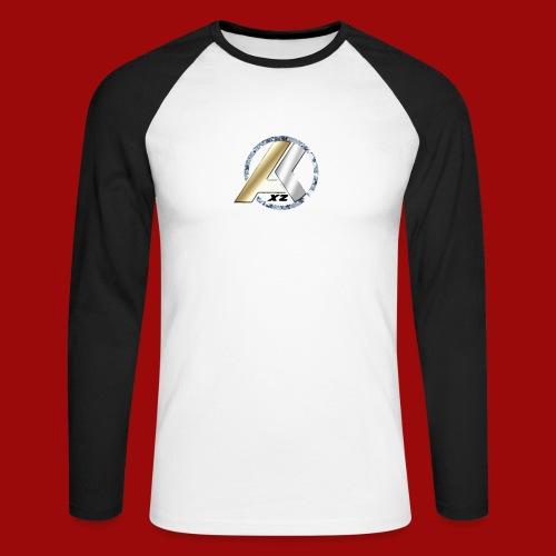 AK Logo GOLD SILVER DIAMANT - Männer Baseballshirt langarm