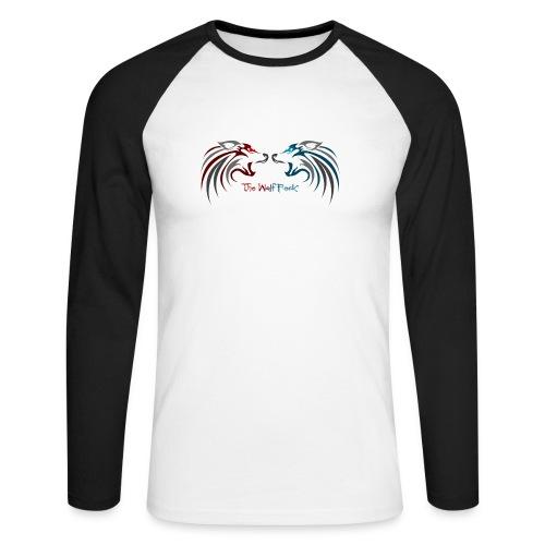 Jeffery - Langermet baseball-skjorte for menn