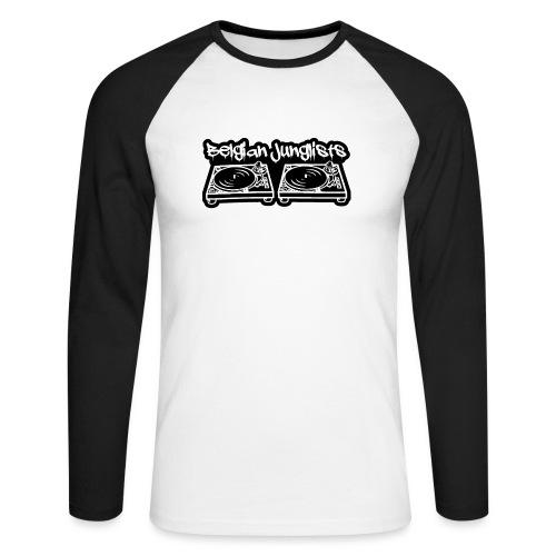 Belgian Junglists 2 - Men's Long Sleeve Baseball T-Shirt