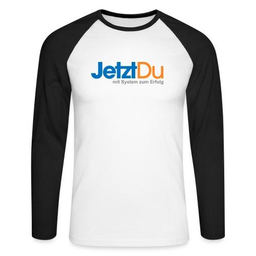 JetztDuLogo ArtWork1 - Männer Baseballshirt langarm