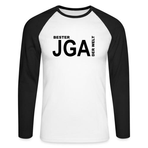 Bester JGA der Welt - Männer Baseballshirt langarm