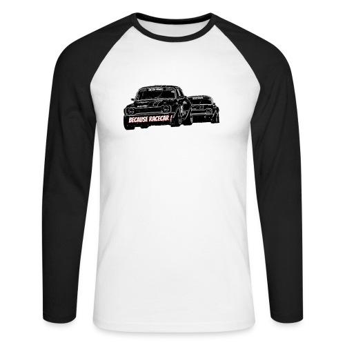 Racecar - T-shirt baseball manches longues Homme