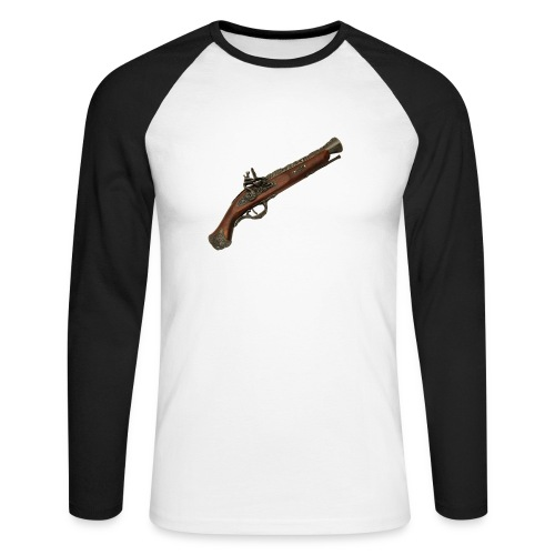 Pistola - Raglán manga larga hombre