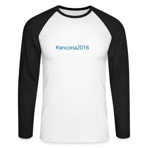 #ancona2016 - Raglán manga larga hombre