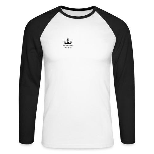 william - Men's Long Sleeve Baseball T-Shirt