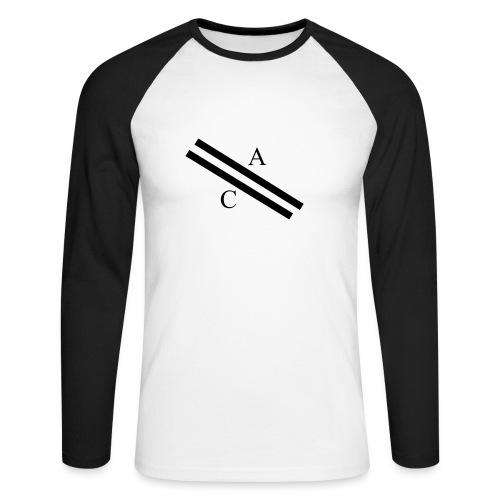 A\\C - T-shirt baseball manches longues Homme