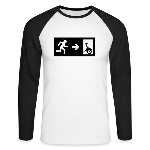notaufgang - Männer Baseballshirt langarm