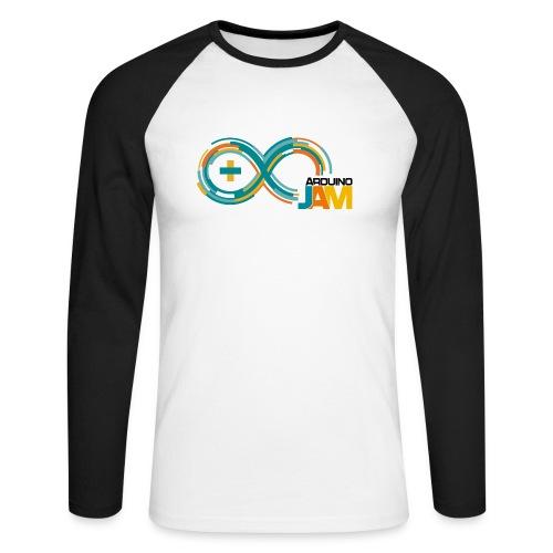 T-shirt Arduino-Jam logo - Men's Long Sleeve Baseball T-Shirt