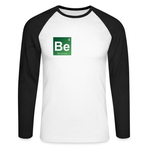 Be - Beryllium- Bernau - Männer Baseballshirt langarm