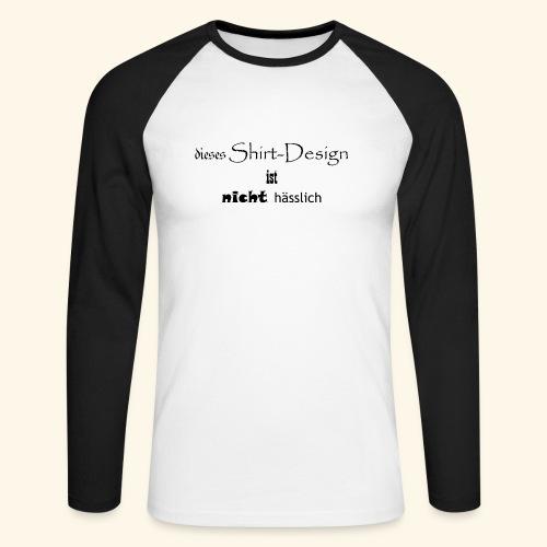 test_shop_design - Männer Baseballshirt langarm