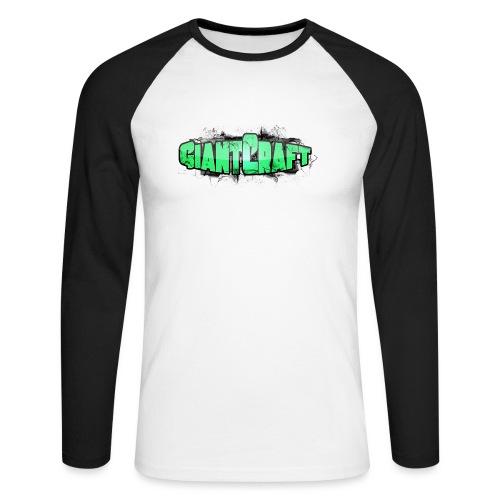 Vandflaske - GiantCraft - Langærmet herre-baseballshirt