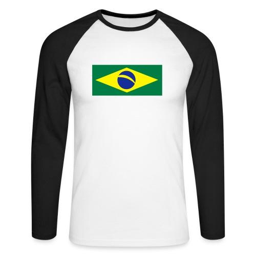 Braslien - Männer Baseballshirt langarm