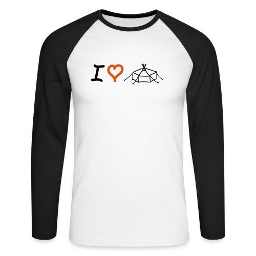 IloveJurte - Männer Baseballshirt langarm