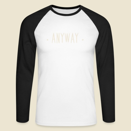 Anyway - T-shirt baseball manches longues Homme
