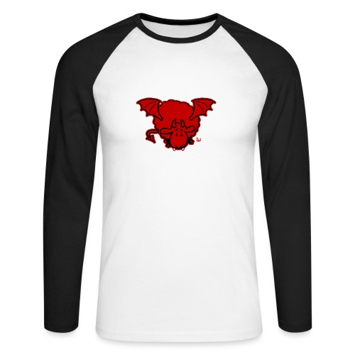 Devil Sheep - Men's Long Sleeve Baseball T-Shirt