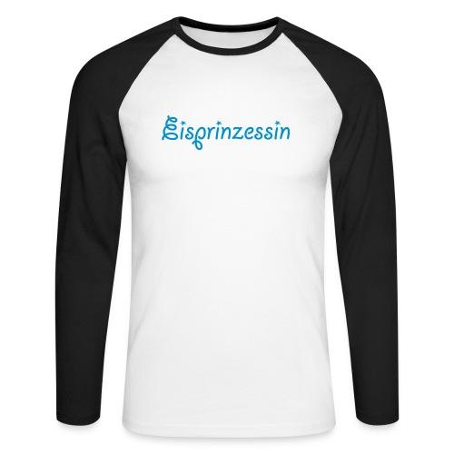 Eisprinzessin, Ski Shirt, T-Shirt für Apres Ski - Männer Baseballshirt langarm