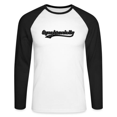 Synchronicity - T-shirt baseball manches longues Homme