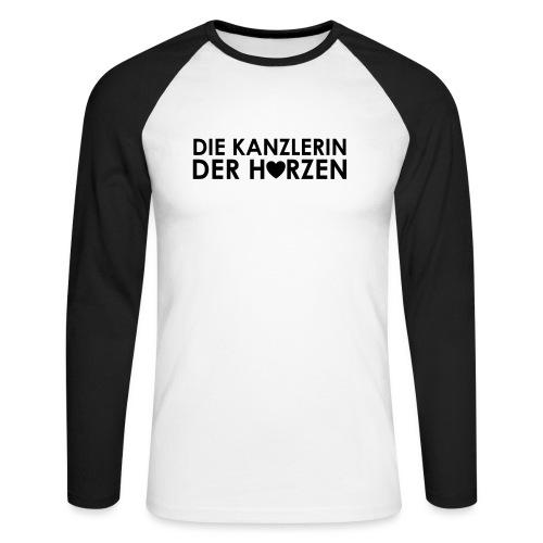 Weltkanzlerin® Frauen Premium T-Shirt - Männer Baseballshirt langarm