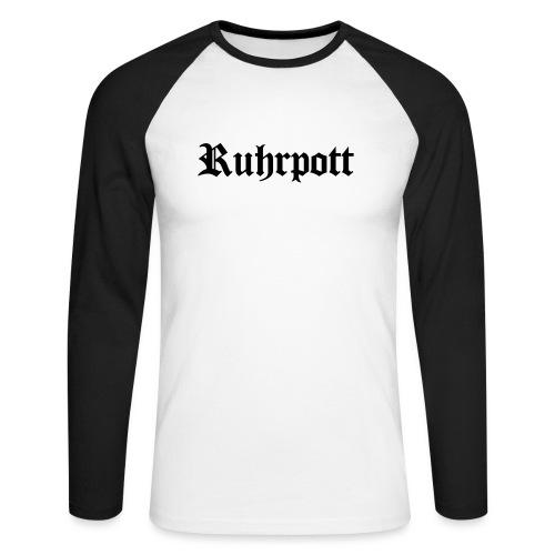 Ruhrpott - Männer Baseballshirt langarm