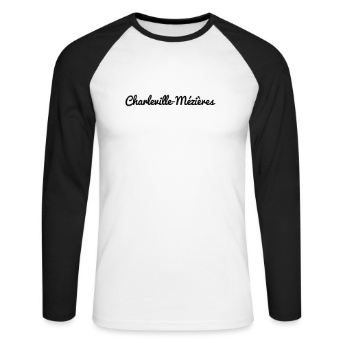 Charleville-Mézières - Marne 51 - T-shirt baseball manches longues Homme