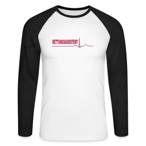 Rettungsassistent - Männer Baseballshirt langarm