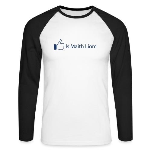 like nobg - Men's Long Sleeve Baseball T-Shirt