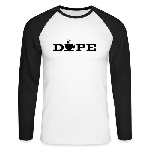 Dope Letter - Men's Long Sleeve Baseball T-Shirt