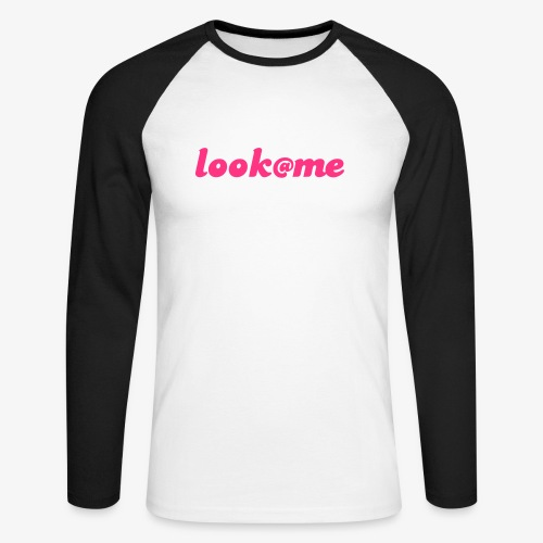 LooK at me - T-shirt baseball manches longues Homme