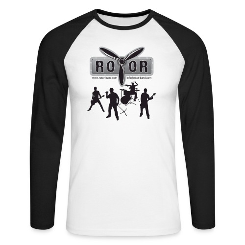 Band Logo - Männer Baseballshirt langarm
