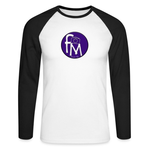 FM - Men's Long Sleeve Baseball T-Shirt