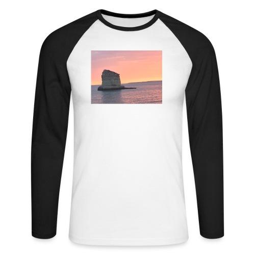 My rock - Men's Long Sleeve Baseball T-Shirt